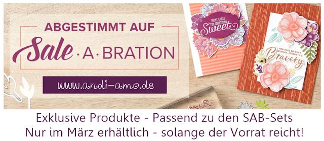 Exklusive Produkte abgestimmt auf Sale-A-Bration