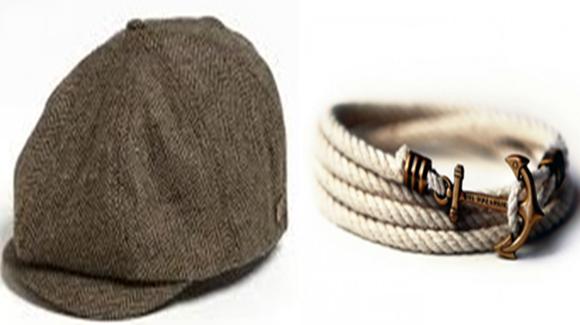 Chapéu e pulseira