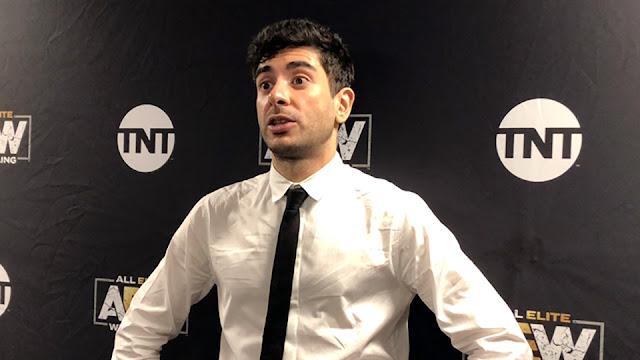 Tony Khan comenta sobre as suspensões de Sammy Guevara e Jimmy Havoc