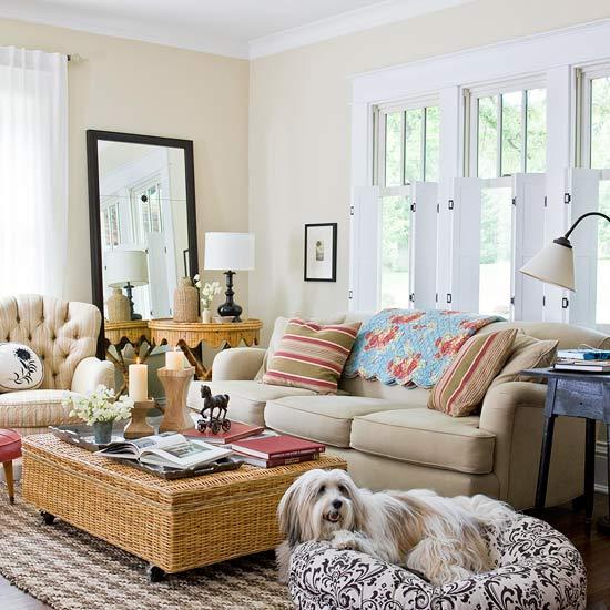 Modern Furniture Design: 2013 Cottage Living Room ...