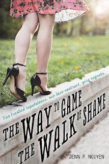 the way to game the walk of shame, jenn p. nguyen, contemporary, romance, book, swoon reads, ya, young adult