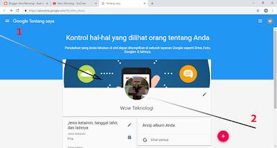 Cara Mengubah Profile Gambar Akun Channel Youtube