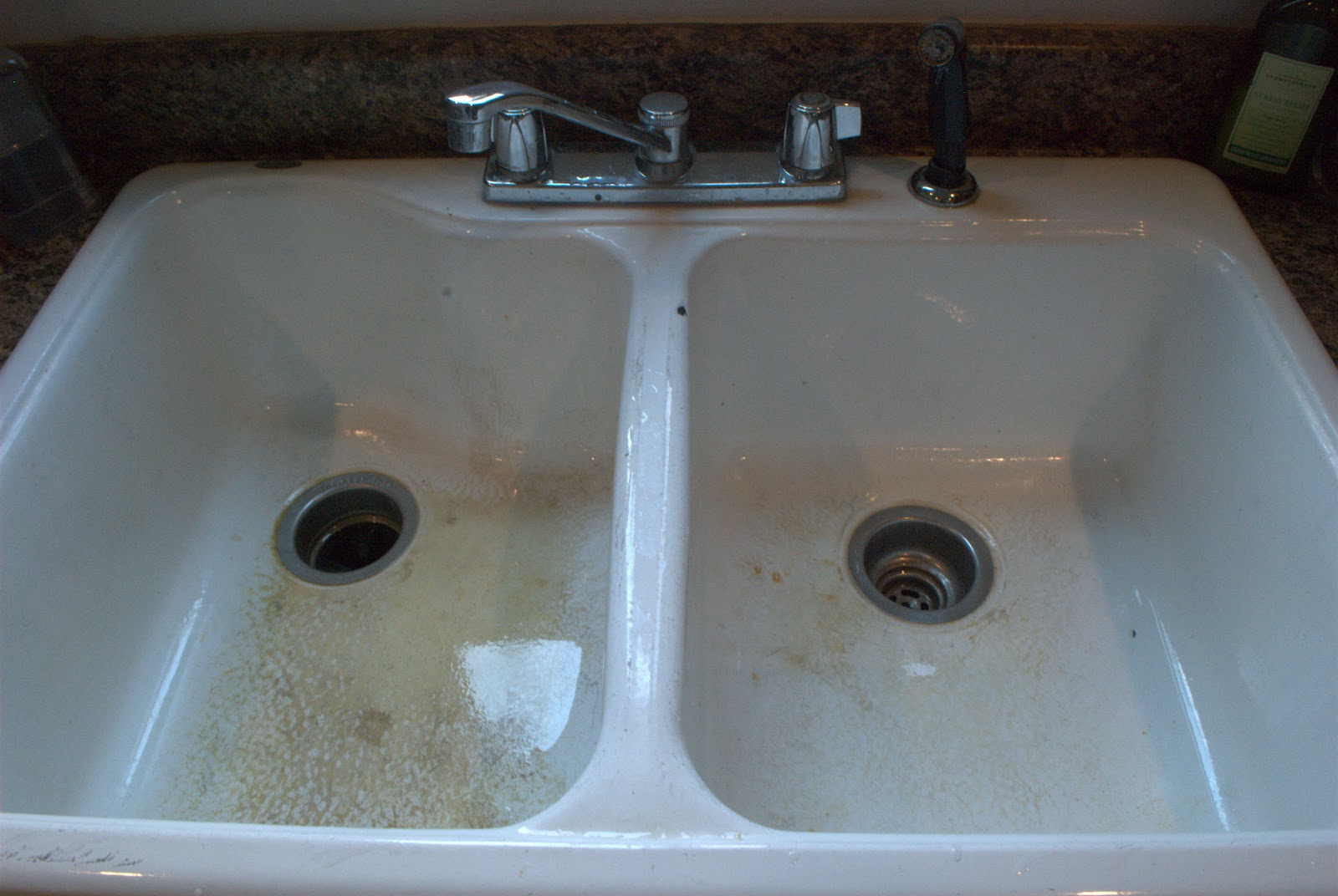 Sink Cleaning - and soon to be new sink! | marcums