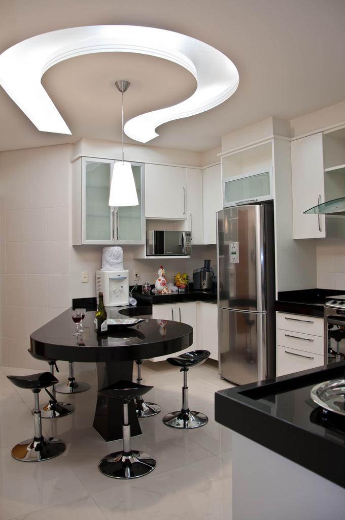 contemporary kitchen ceiling fals design interior