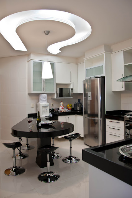 contemporary kitchen ceiling fals design interior