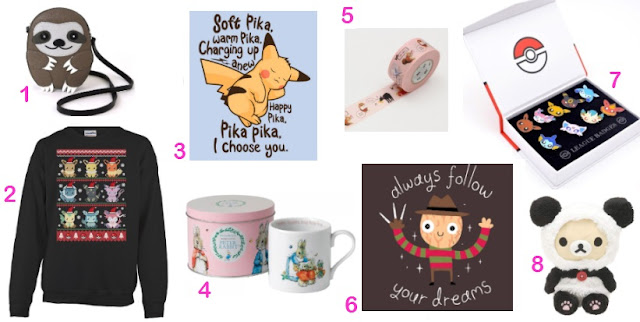Kawaii Wishlist, Geeky Wishlist, Nerdy Wishlist,
