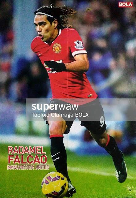Radamel Falcao Manchester United 2014