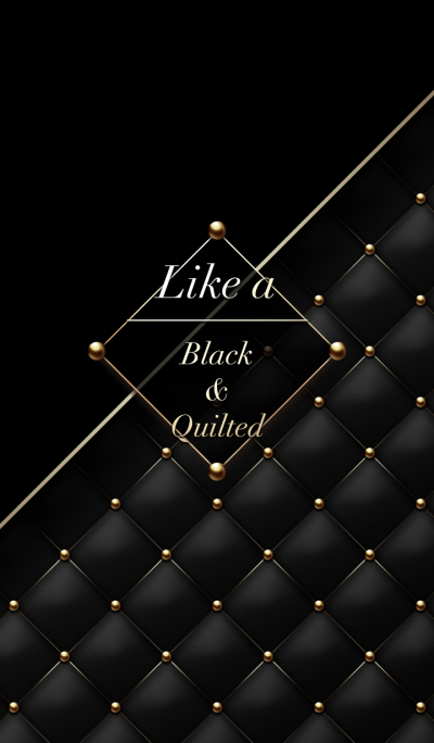 Like a - Black & Quilted #Devil