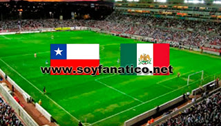 Amistoso Chile vs Mexico 2016