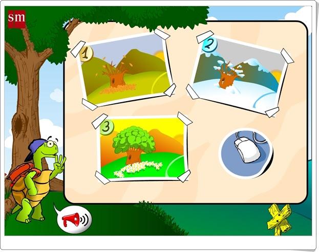 """""""Juega con Menta, la tortuga"""" (Juegos interdisciplinares de Educación Infantil de 4 años)"""