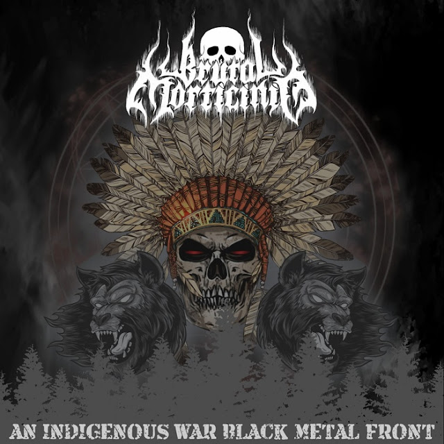 "Brutal Morticínio - ""An Indigenous War Black Metal Front"" (Novo Hamburgo/RS) (EP) (Nacional - 2018) (Independente)"