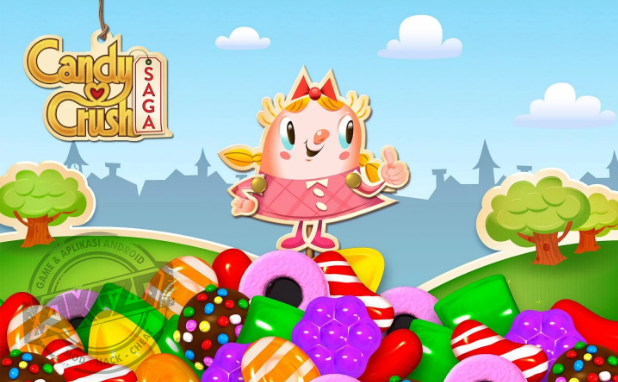 Candy Crush Saga Mod Apk - Unlocked/Unlimited Lives