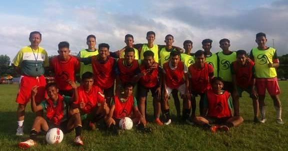 Siap Berkompetisi di Pra Porda, Tim Sepakbola Luwu Mulai Rutin Latihan