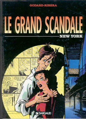 Le grand scandale 4 volumes - Christian Godard & Julio Ribera (Série finie)