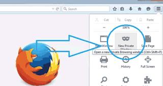 Cara Membuka Mode Penyamaran di Browser Firefox