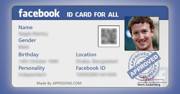ONLINE] Create Facebook ID Card [Easily and Quickly] | Free