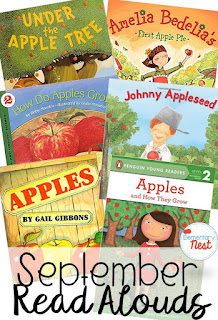 fiction and nonfiction September read alouds- fun books to read during September