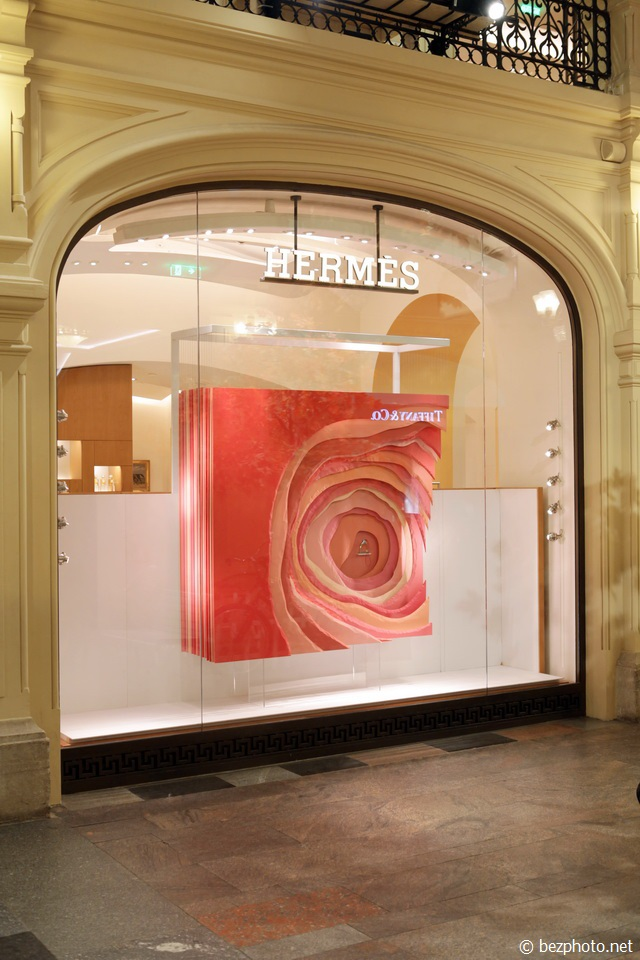 витрины hermes 2016