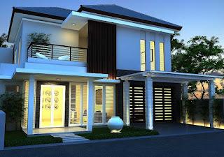 Desain Rumah Minimalis Paling Popular Terbaru