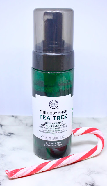 The Body Shop Tea Tree Foaming Cleanser Review