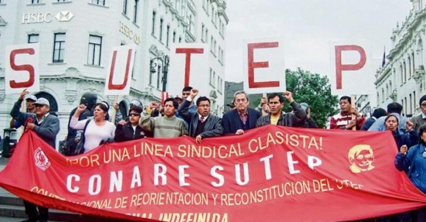 HUELGA DE MAESTROS: Movadef y Patria Roja se disputan control del movimiento magisterial