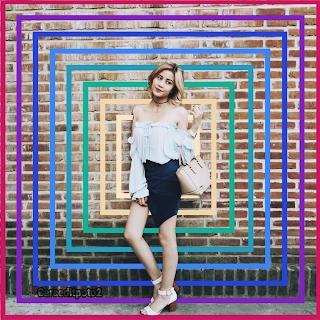 Edit Foto Color Square Ala Awkarin Picsay Pro