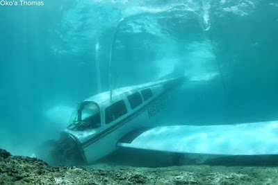 OMG: Pilot & Passenger In A Small Plane Crash Into The Ocean