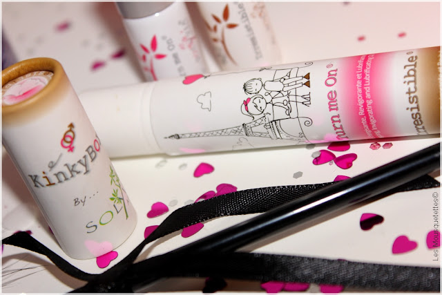 Opération Saint Valentin d'une beauty addict romantique - KinkyBox Solyvia - Blog beauté Les Mousquetettes©