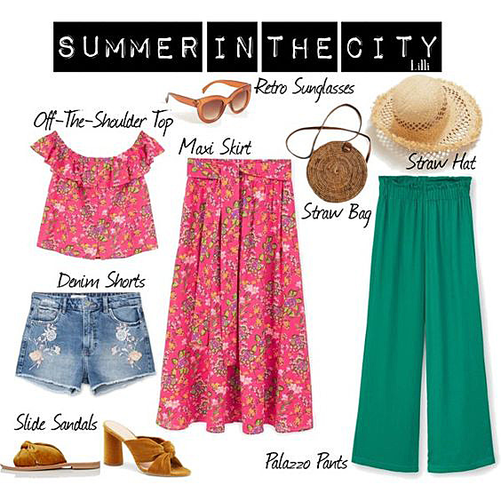 Summer in the City Look