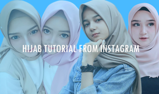 Tutorial Hijab Party & Hangout + Hijab Beatufy Instagram