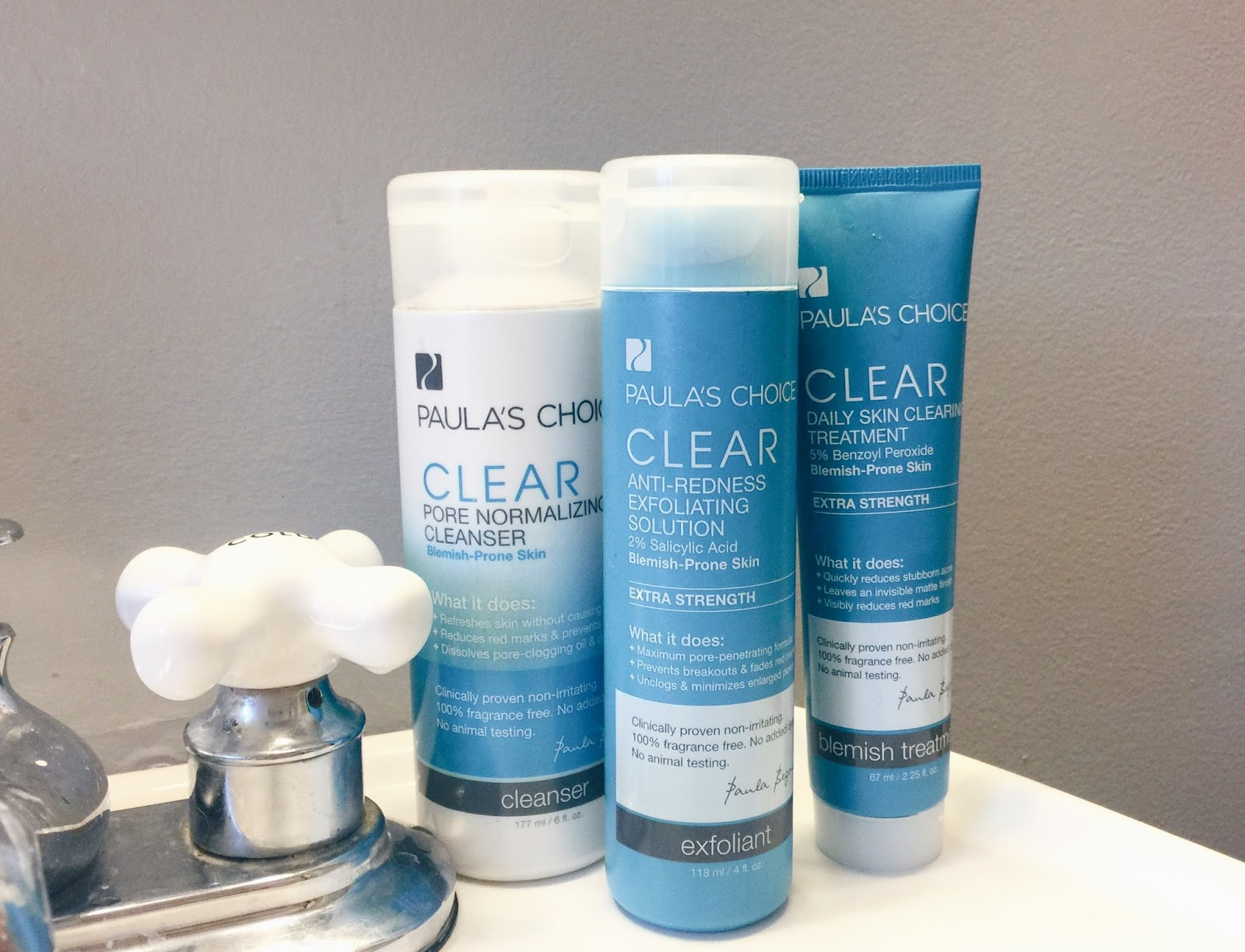 Franish: review: paula's choice clear extra strength acne ...