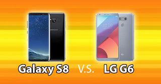 Adu Ponsel High-End LG G6 dan Galaxy S8