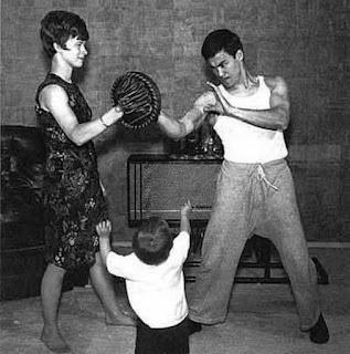 Bruce Lee`s family