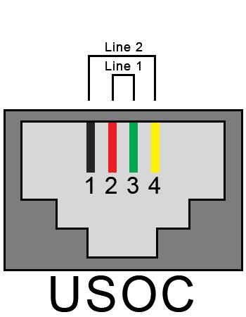 Rj9 Connector Wiring Diagram Rj11 Phone To Rj45 Jack
