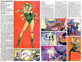 Encantadora (ficha marvel comics)