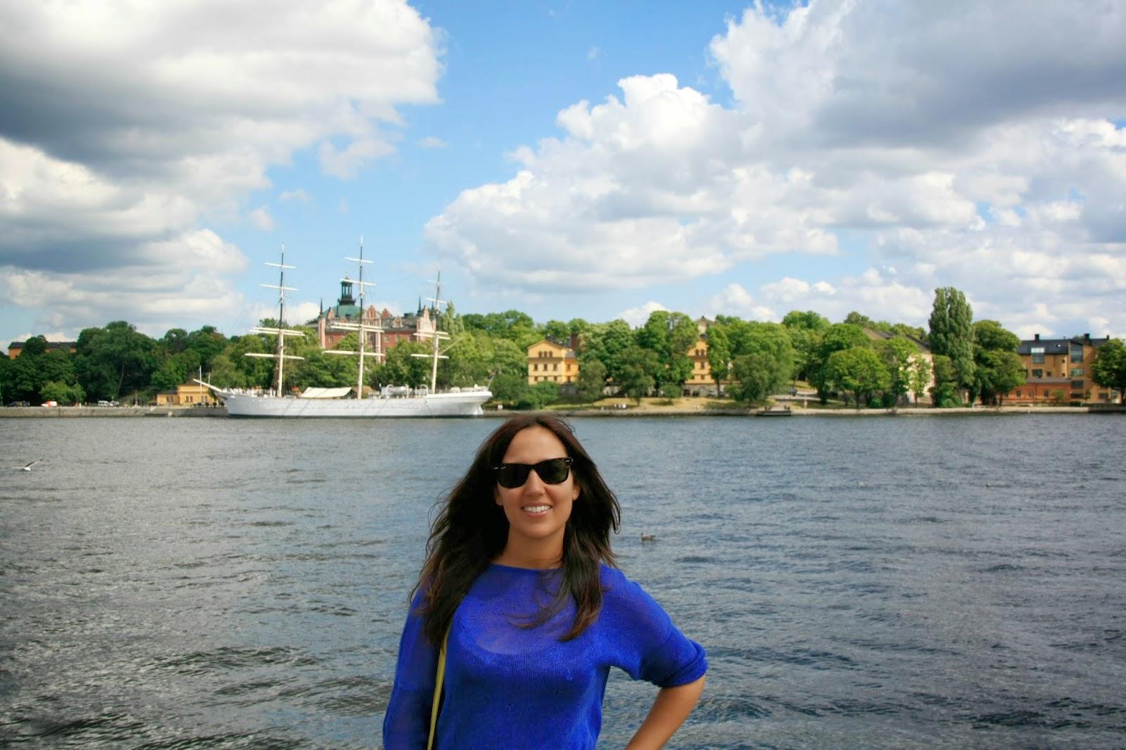 Una de las islas frente a Gamla Stan, Estocolmo.