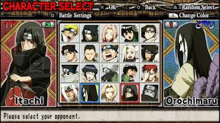 Game Naruto Ultimate Ninja Heroes ISO