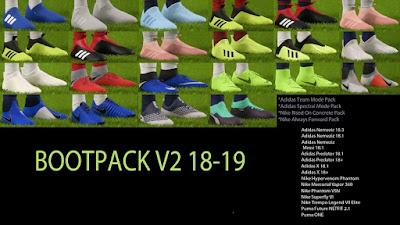 FIFA 18 Bootpack v2 Season 2018/2019
