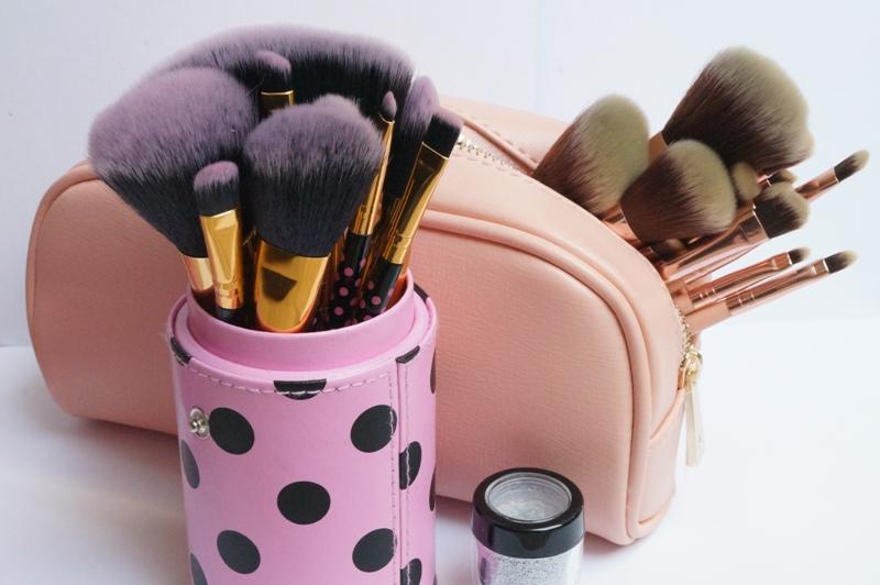 Bh Cosmetics Pink A Dot Chic Pinselset Pinkybeauty