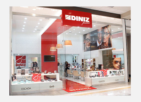 e0105b1fd As Óticas Diniz, maior rede de varejo ótico do Brasil e da América Latina,  presente em todos os estados brasileiros e no Distrito Federal com mais de  850 ...