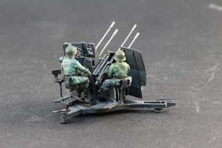Maquette Tamiya German 20 mm Flakvieling 38
