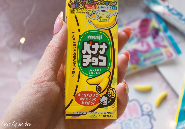 Meiji Choco Bananas