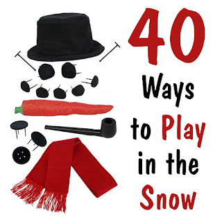 40 Ways to Play in the Snow- a Gift Guide from In Our Pond