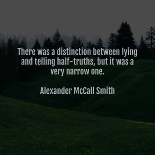 Lies quotes and Liar sayings from famous people