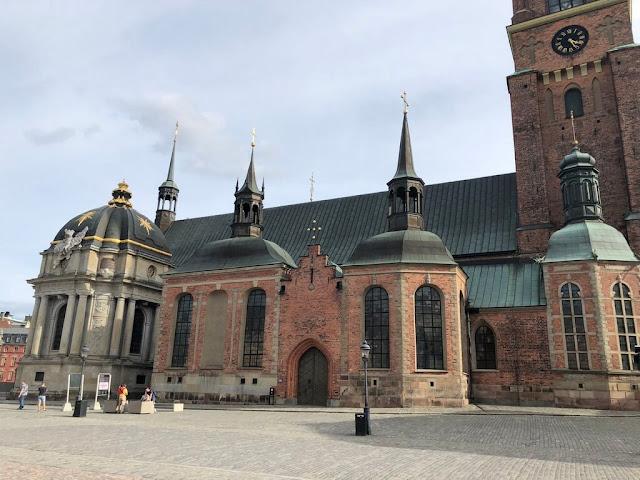 Riddarholmskyrkan - Igreja de Riddarholmen - Estocolmo - Suécia