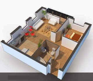 Come disegnare stanze ed edifici in 3d for Programma per arredare casa