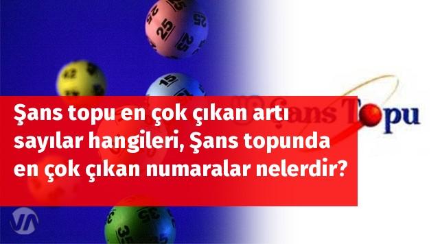 Şans topu en çok çıkan sayılar hangileri, Şans topunda en çok çıkan numaralar nelerdir?