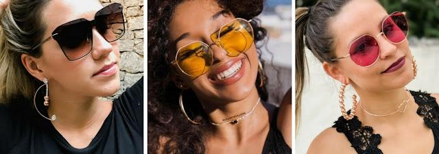 70da3309b 5 Tendências de óculos de sol feminino para 2018 e 2019 - Óculos de ...