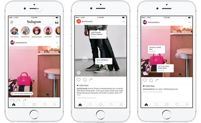 Fitur Baru dari Instagram yang Mampu Merangkul Para Pebisnis Siap di Uji Coba