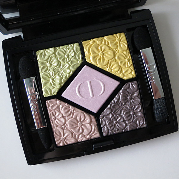 Dior 5 Couleurs Glowing Gardens Eyeshadow Palette Rose Garden